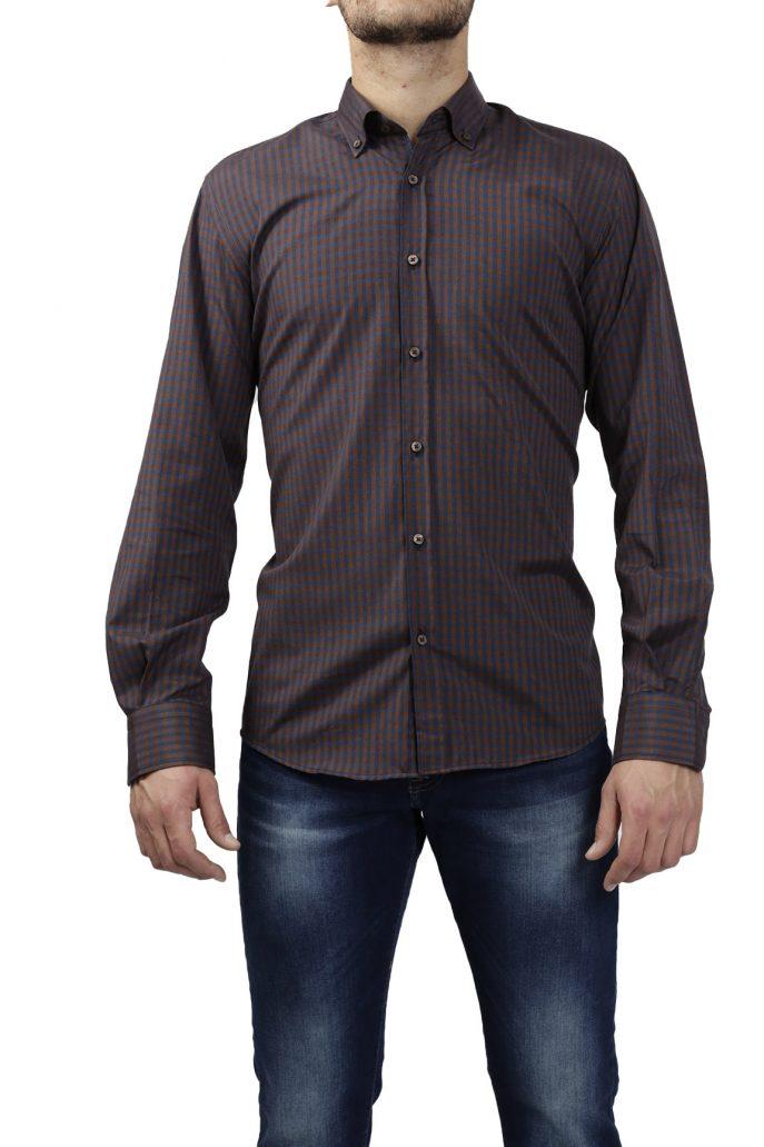 Ανδρικό Πουκάμισο Καρό Comfort Fit 728811/COM/col.3