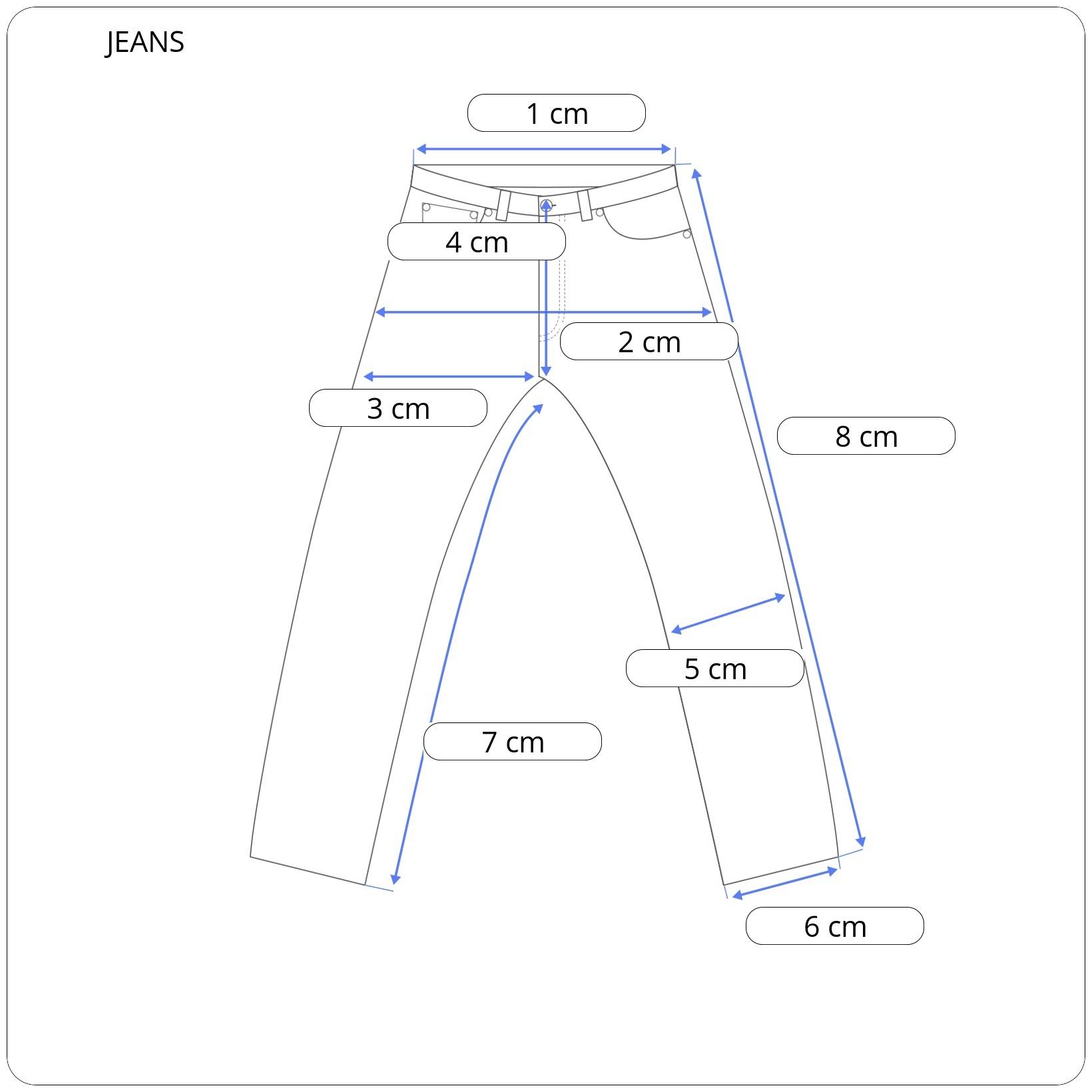 Ανδρικό Jeans Denim Slim Basic Fit DAMAGED (R15A)
