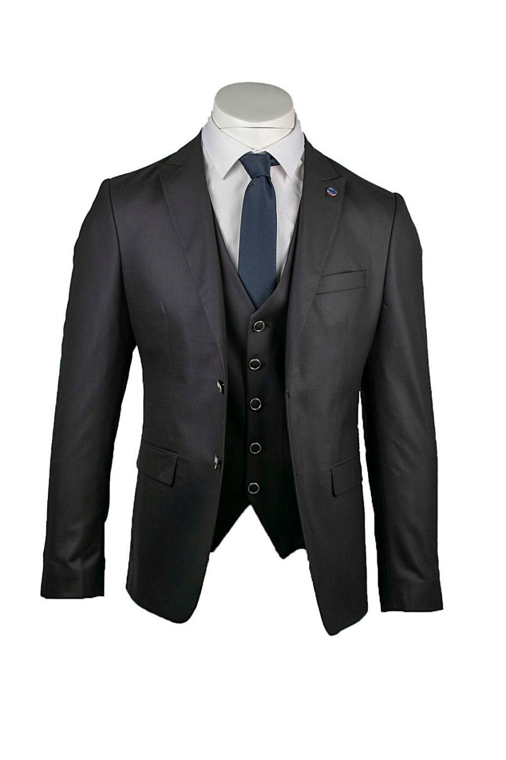 Ανδρικό Κοστούμι Massimo Veneziani (BOGART) Μαύρο