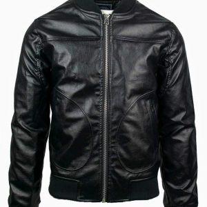 Ανδρικό Μπουφάν Eco Leather Jacket LEE