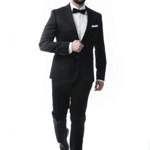Ανδρικό Κοστούμι Slim Fit 11201/02 Μαύρο