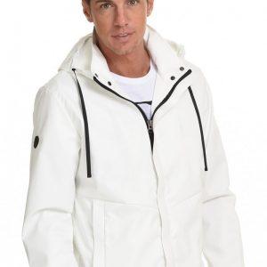 Ανδρικό Μπουφάν Jacket 45-201-003 Λευκό